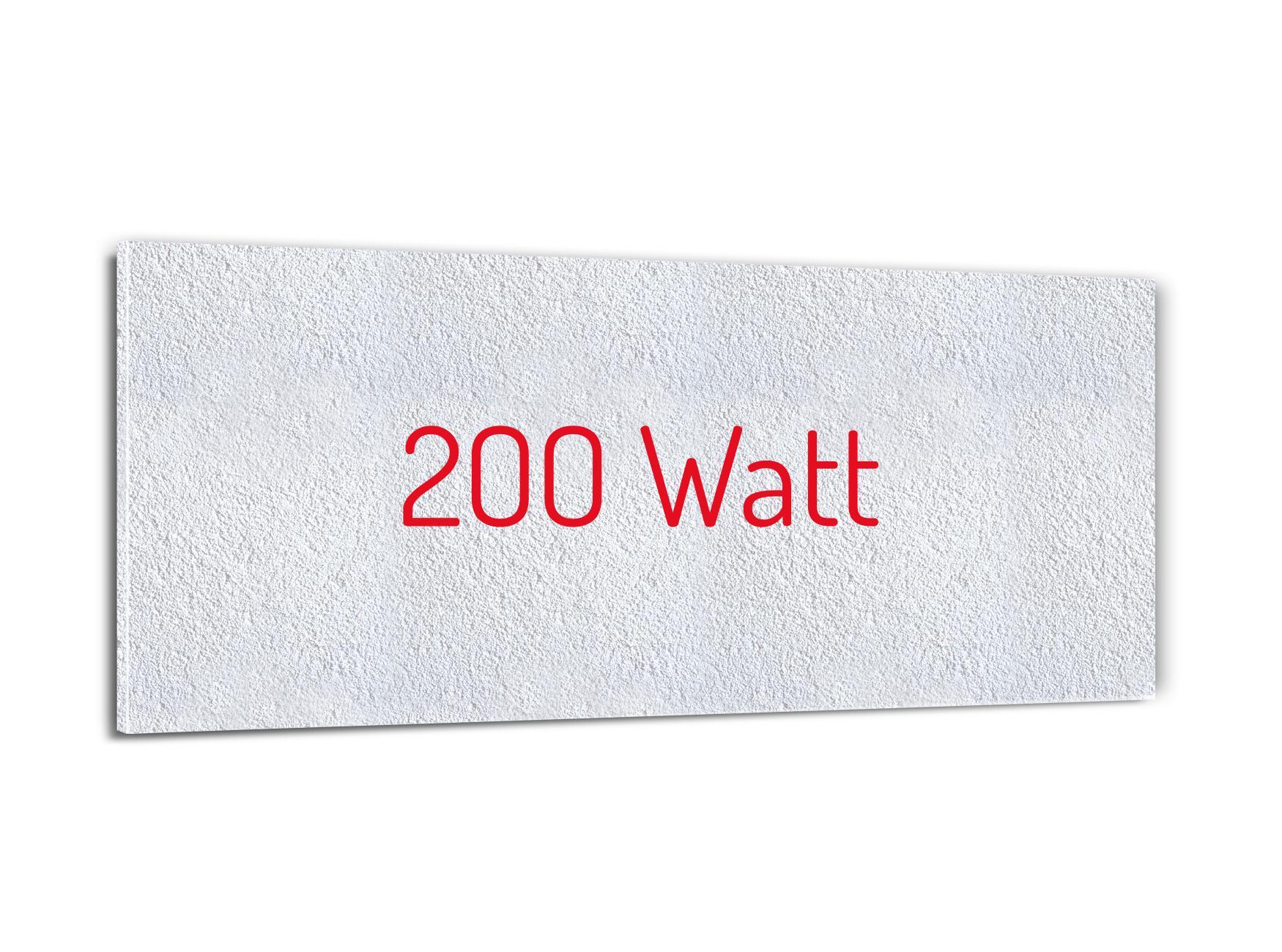 Schreibtischheizung 200 Watt 24x60cm