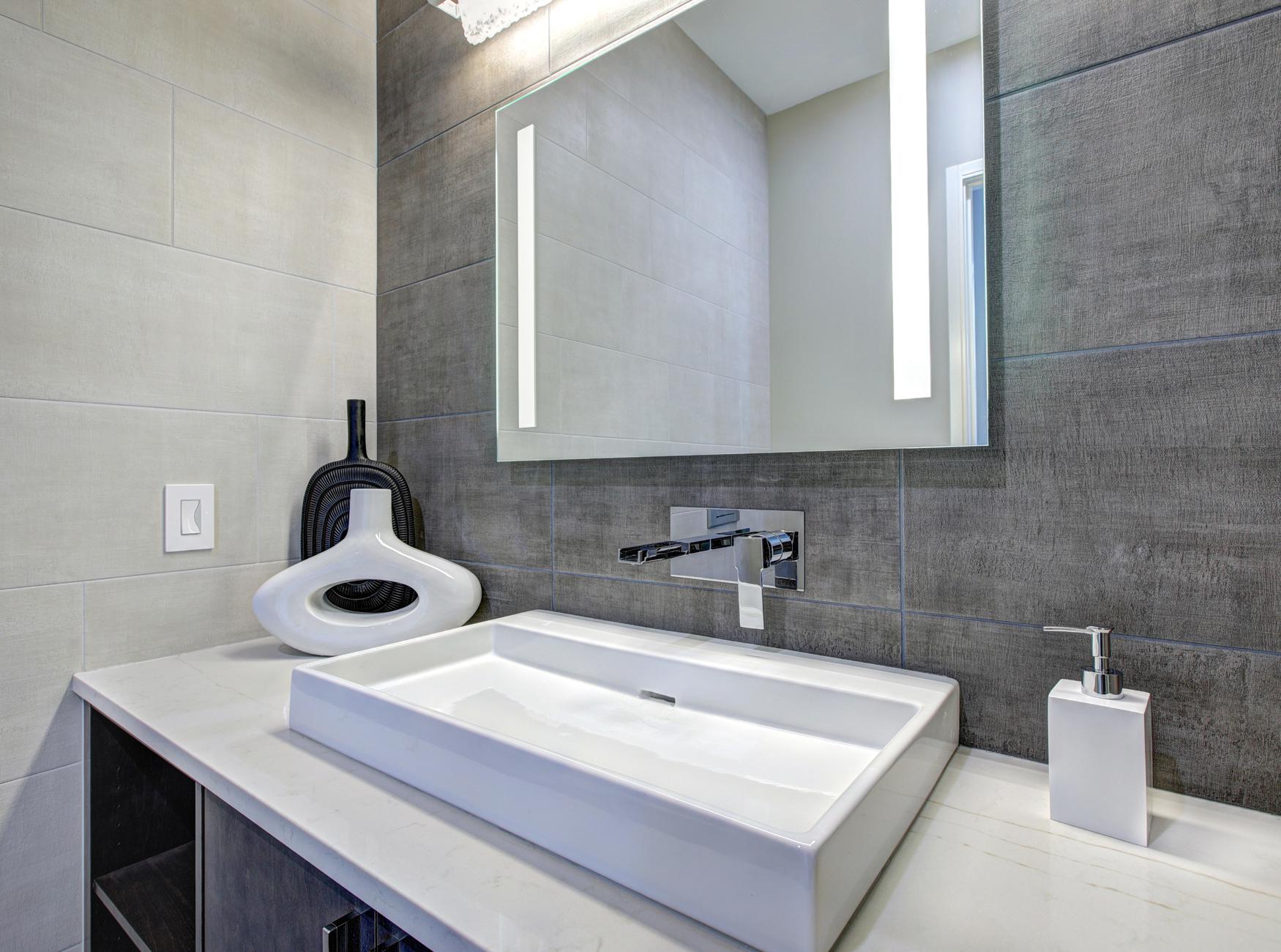 PowerSun Mirror LED rahmenlos 400 Watt