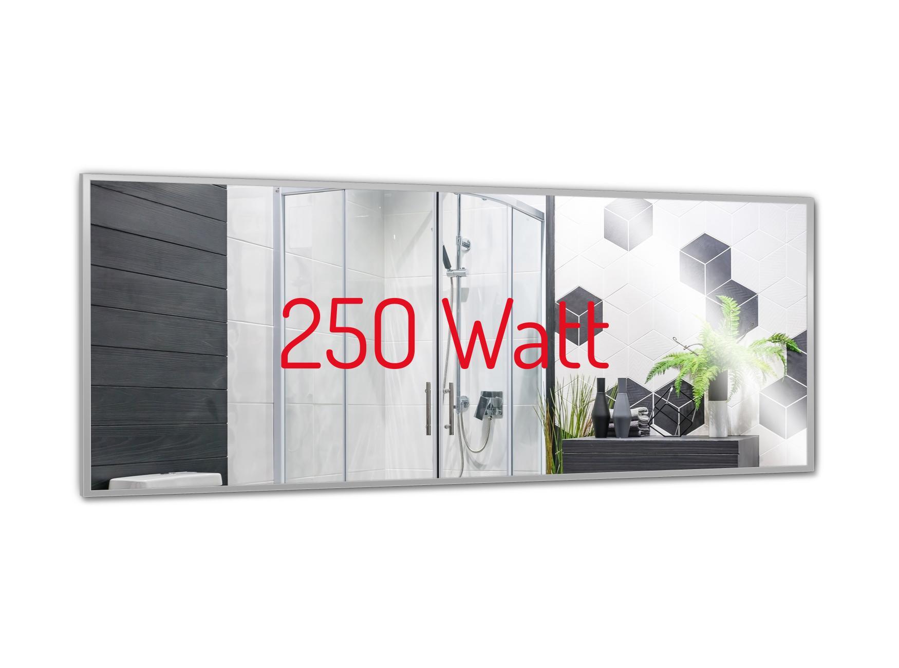 PowerSun Mirror mit Alurahmen 35x90cm