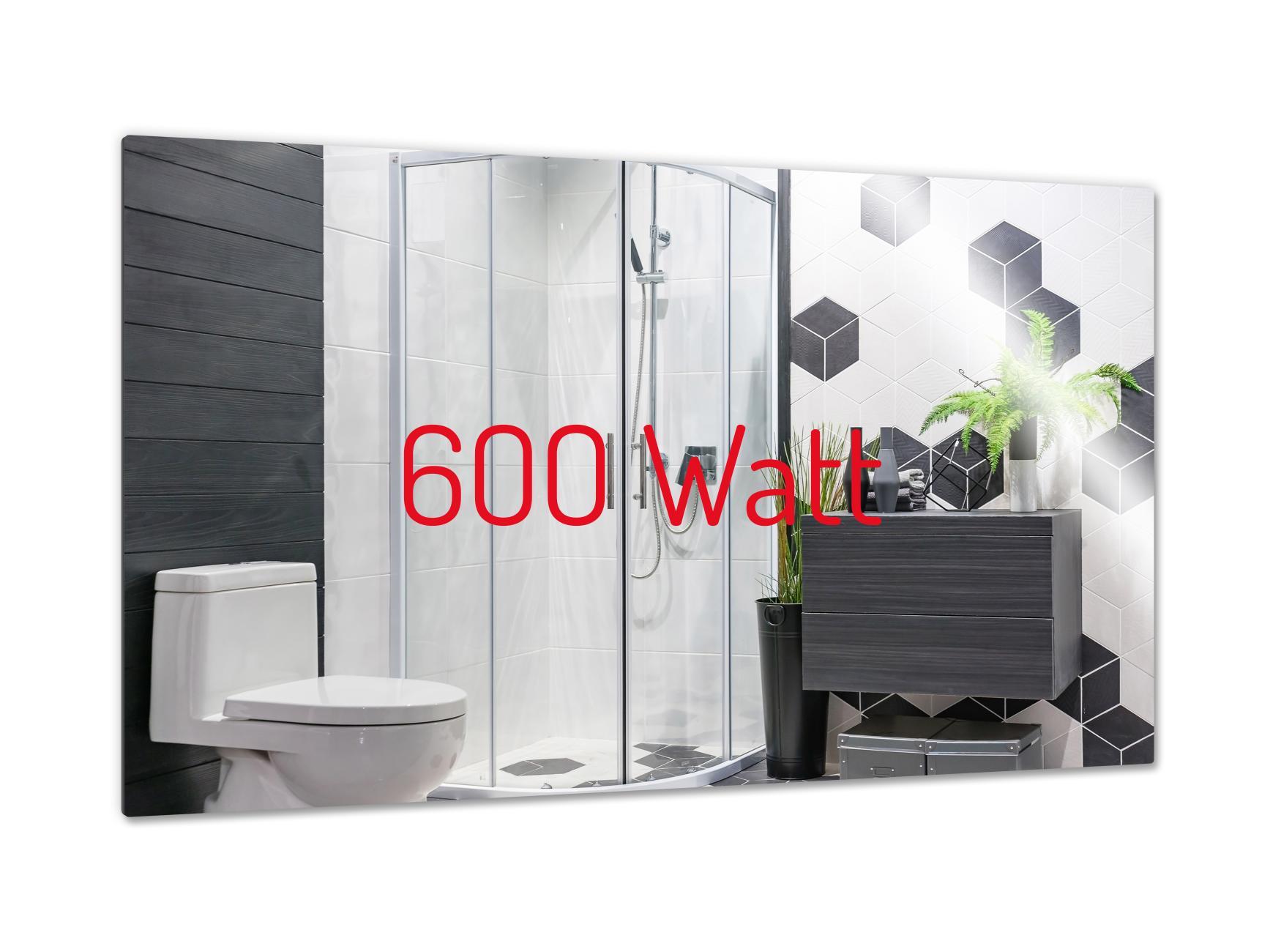 PowerSun Mirror rahmenlos 600 Watt