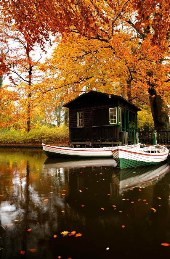 Motiv 049 - Herbsthütte