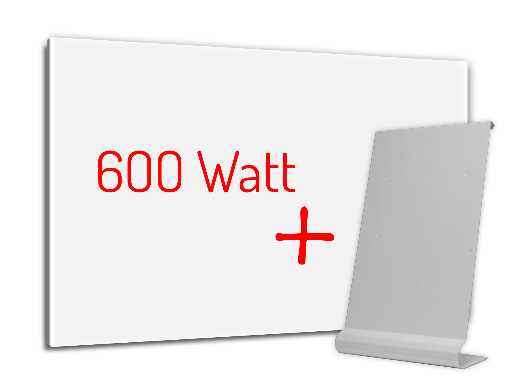 PowerSun Standheizung 600 Watt 60x90cm