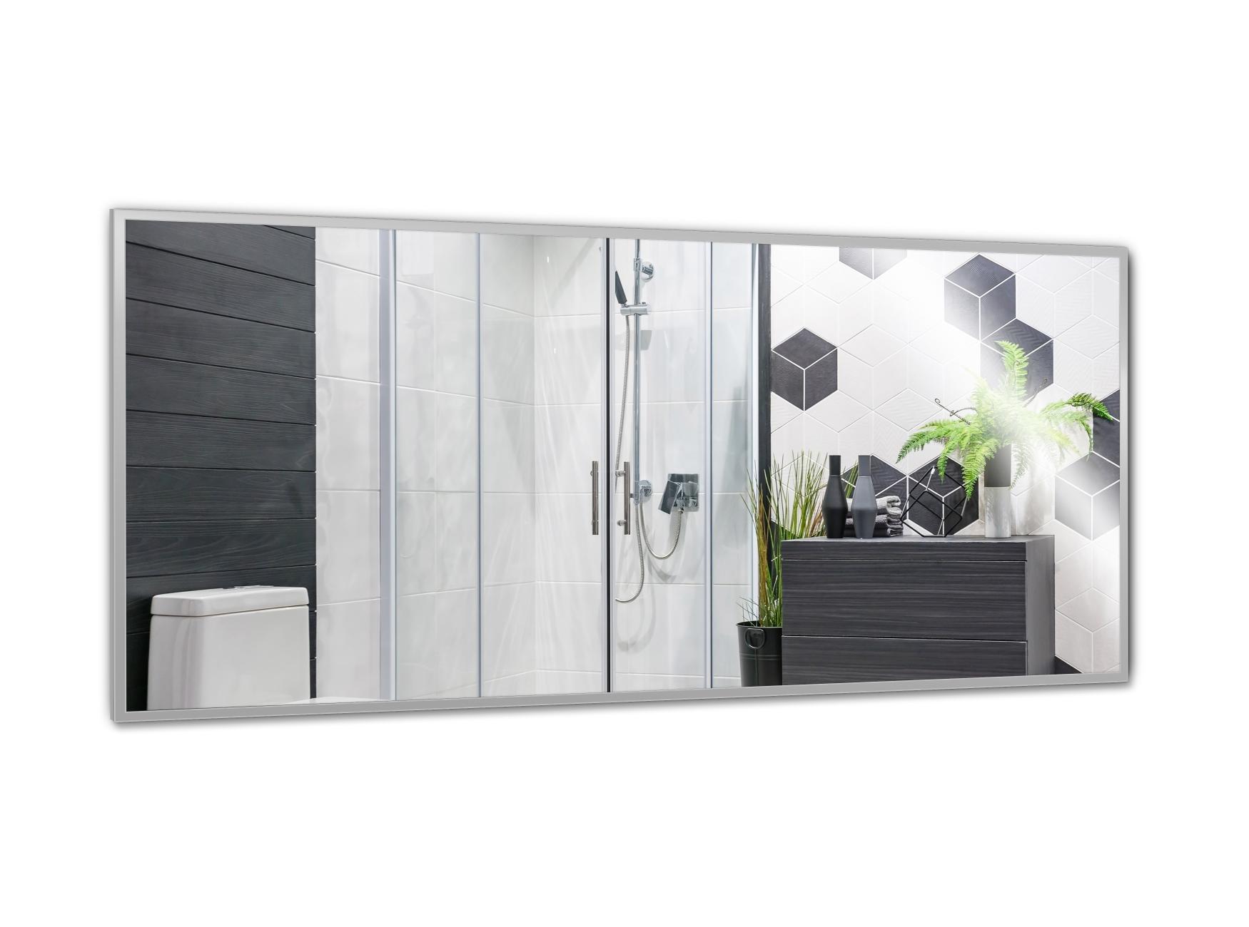PowerSun Mirror mit Alurahmen 60x140cm