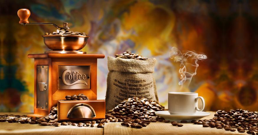 Motiv 032 - Kaffeemühle