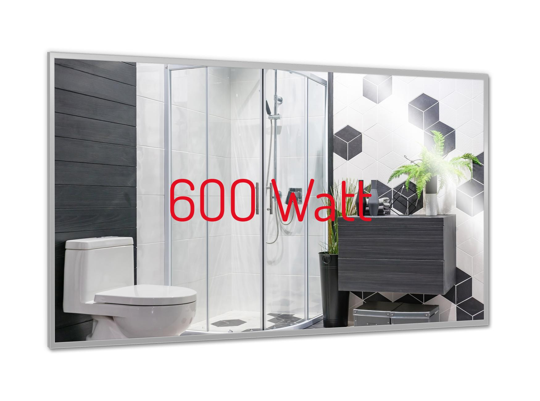 PowerSun Mirror mit Alurahmen 60x110cm
