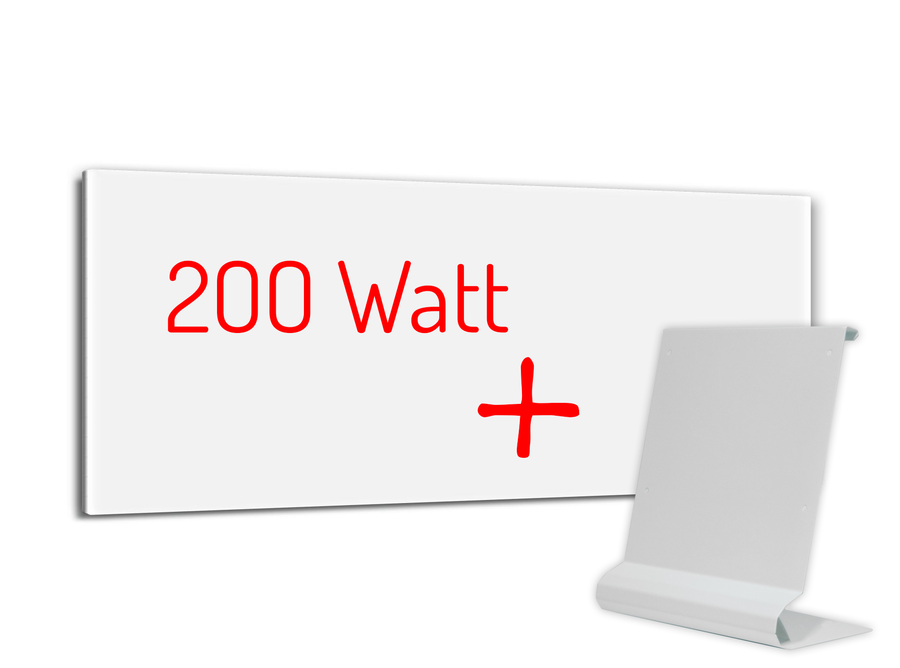 PowerSun Standheizung 200 Watt 24x60cm