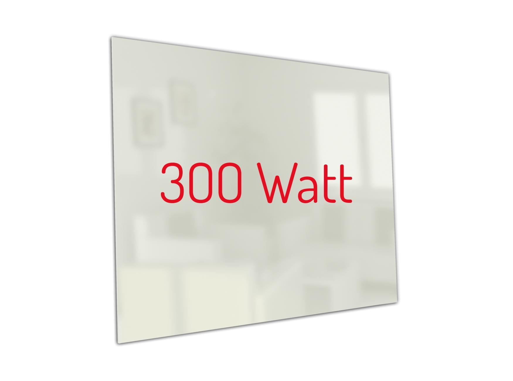 PowerSun Carboglas weiß 300 Watt 60x60cm