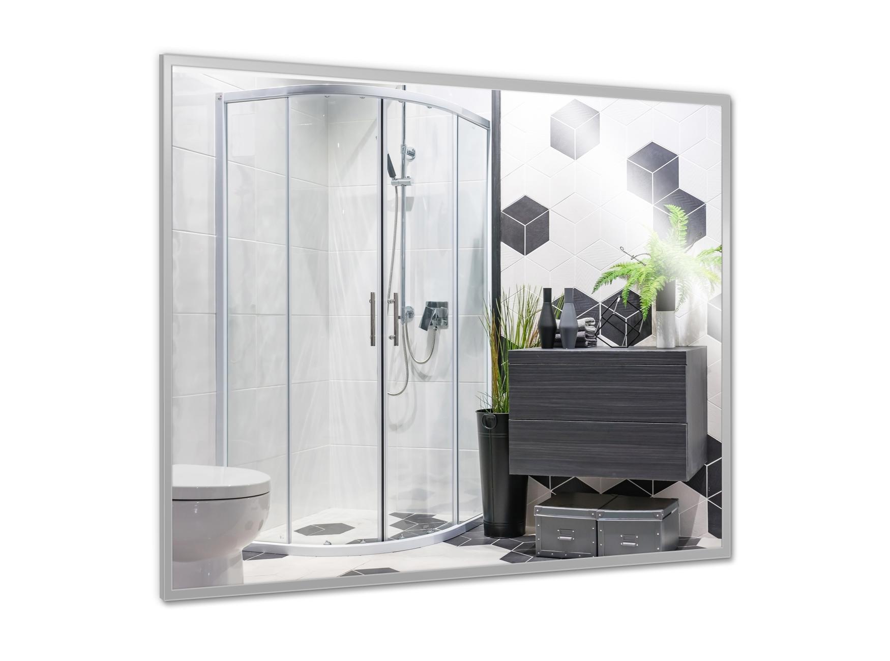 PowerSun Mirror mit Alurahmen 60x70cm