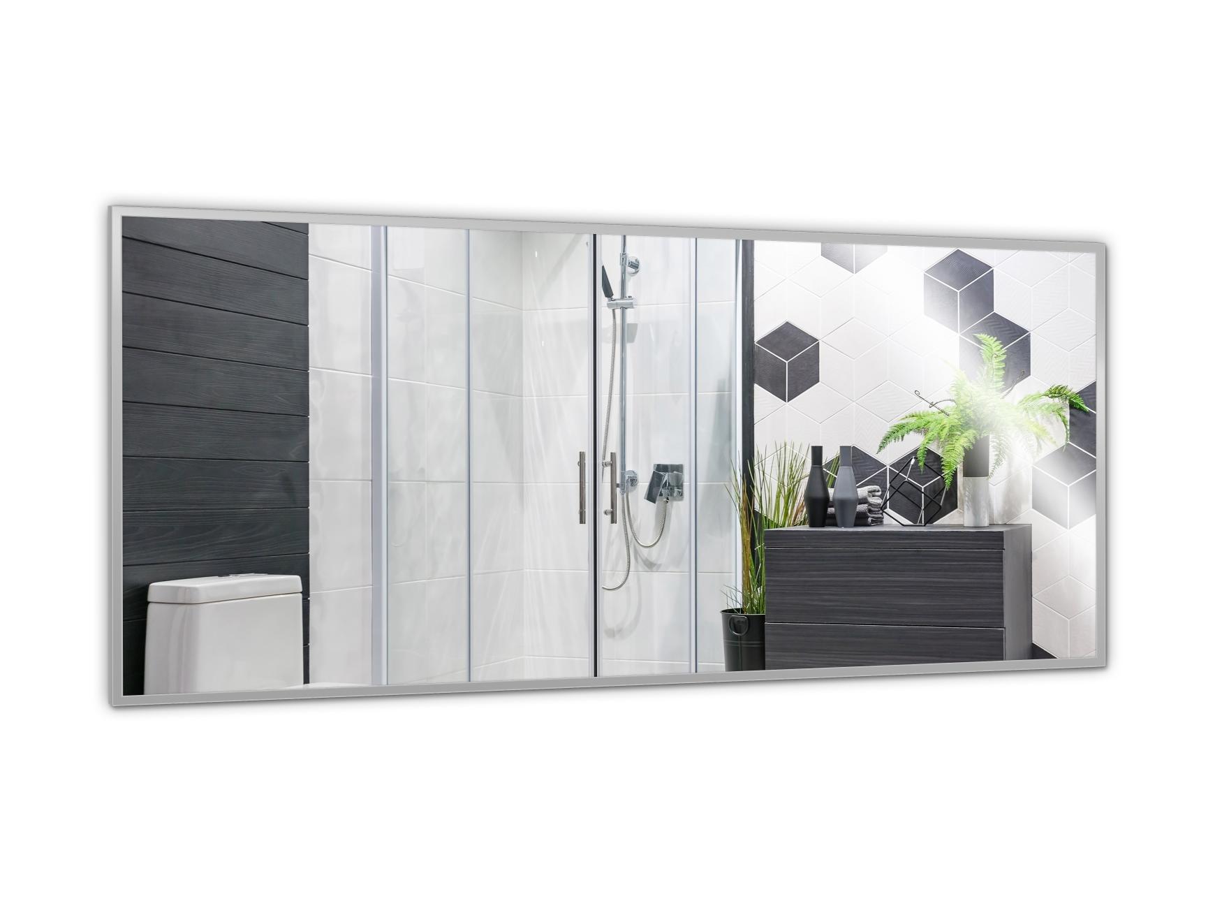 PowerSun Mirror mit Alurahmen 80x200cm