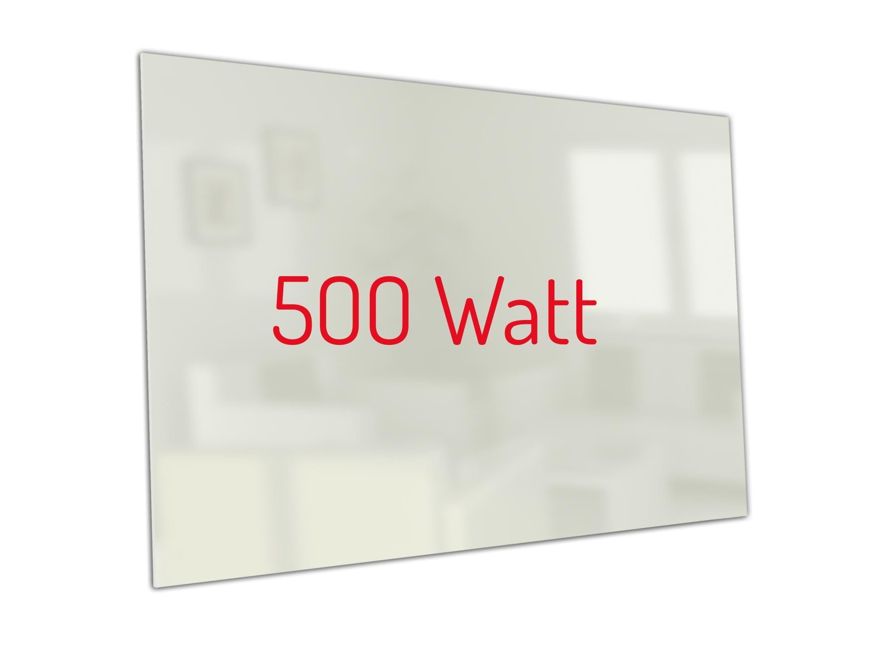 PowerSun Carboglas weiß 500 Watt 60x90cm