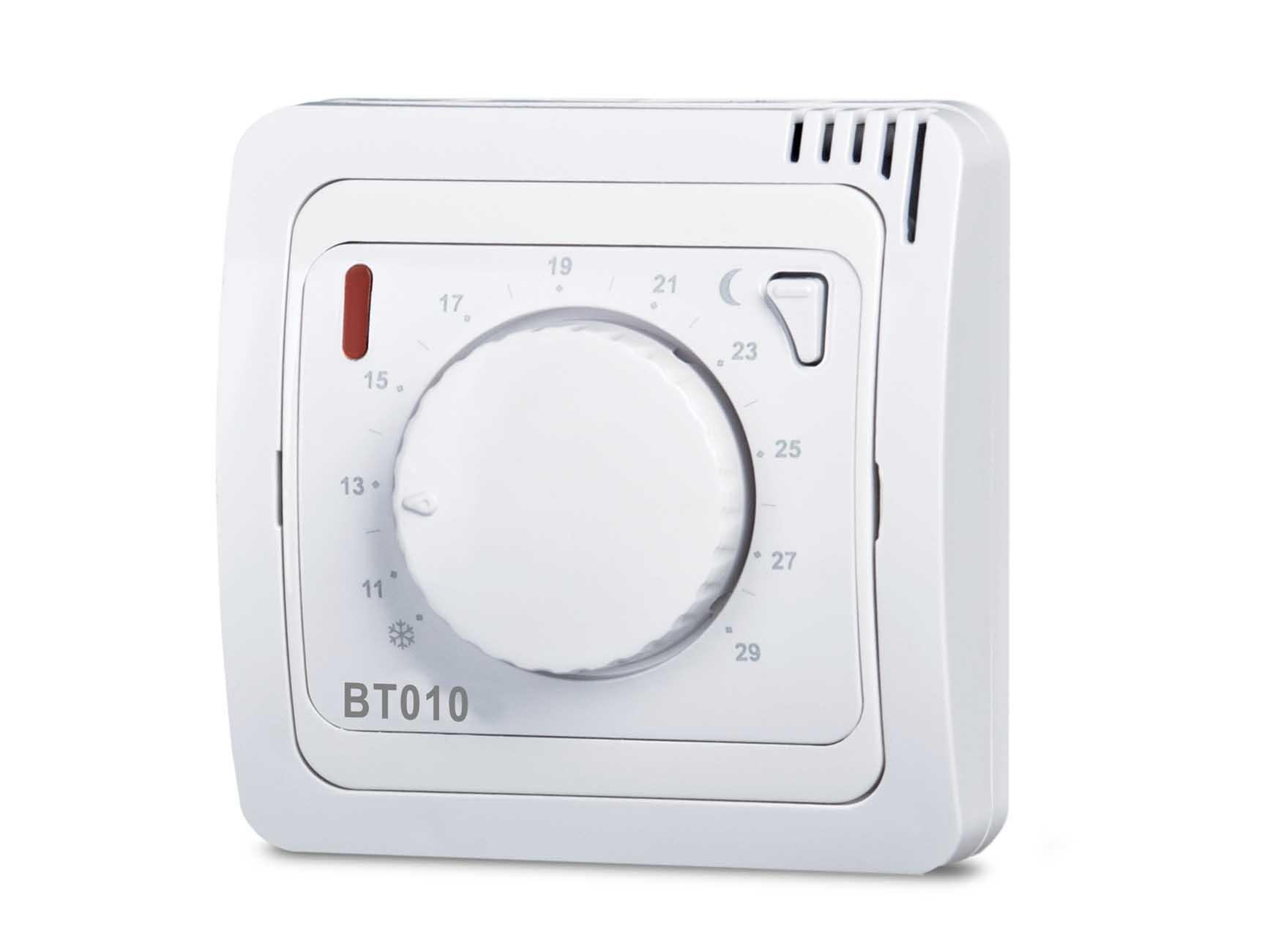 Funk Thermostat Aufputz analog mit Rad