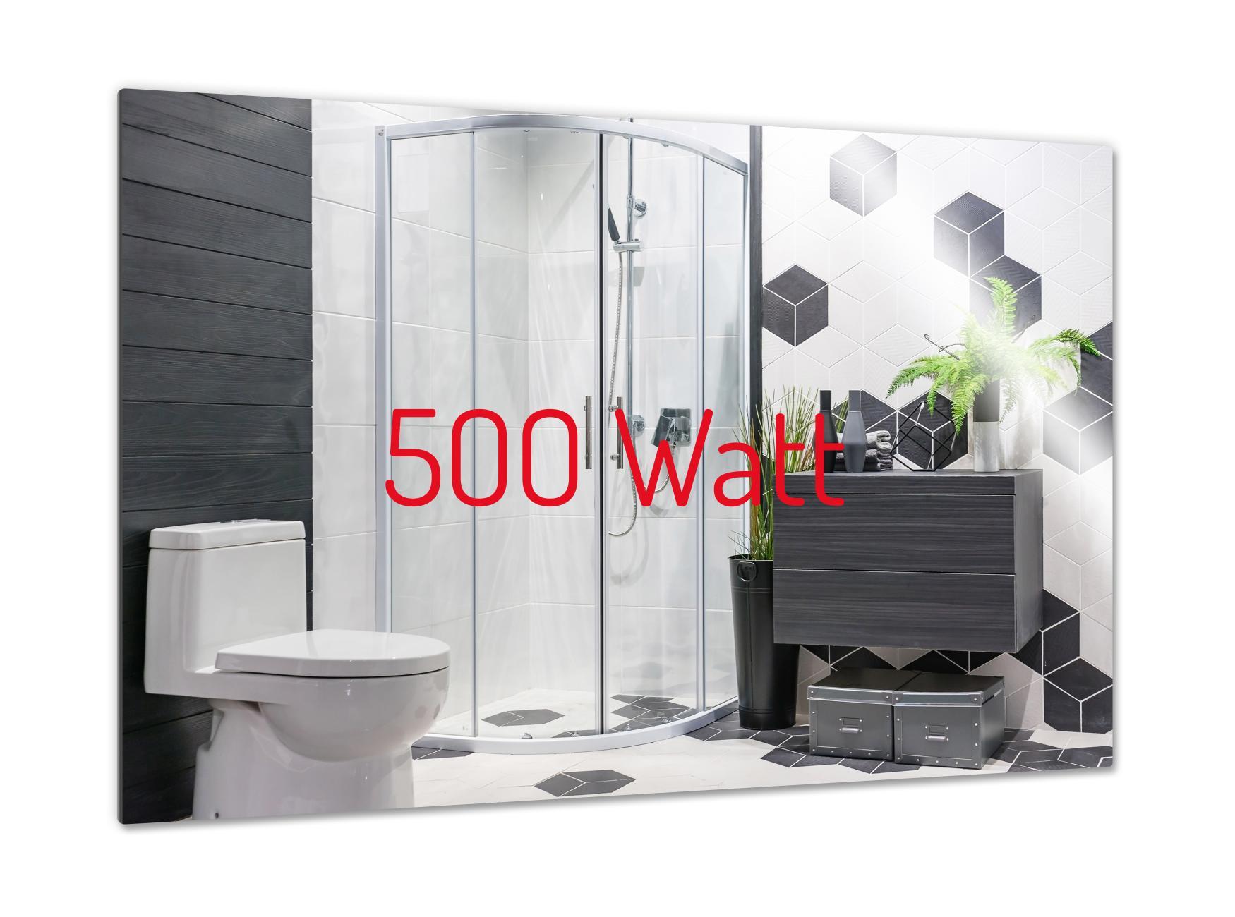 PowerSun Mirror rahmenlos 500 Watt