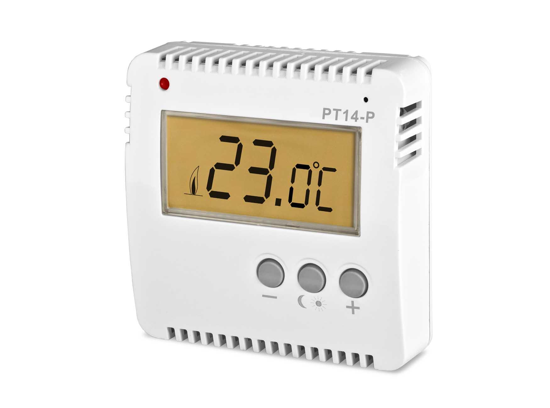 Thermostat digital Aufputz programmierbar mit LCD-Anzeige