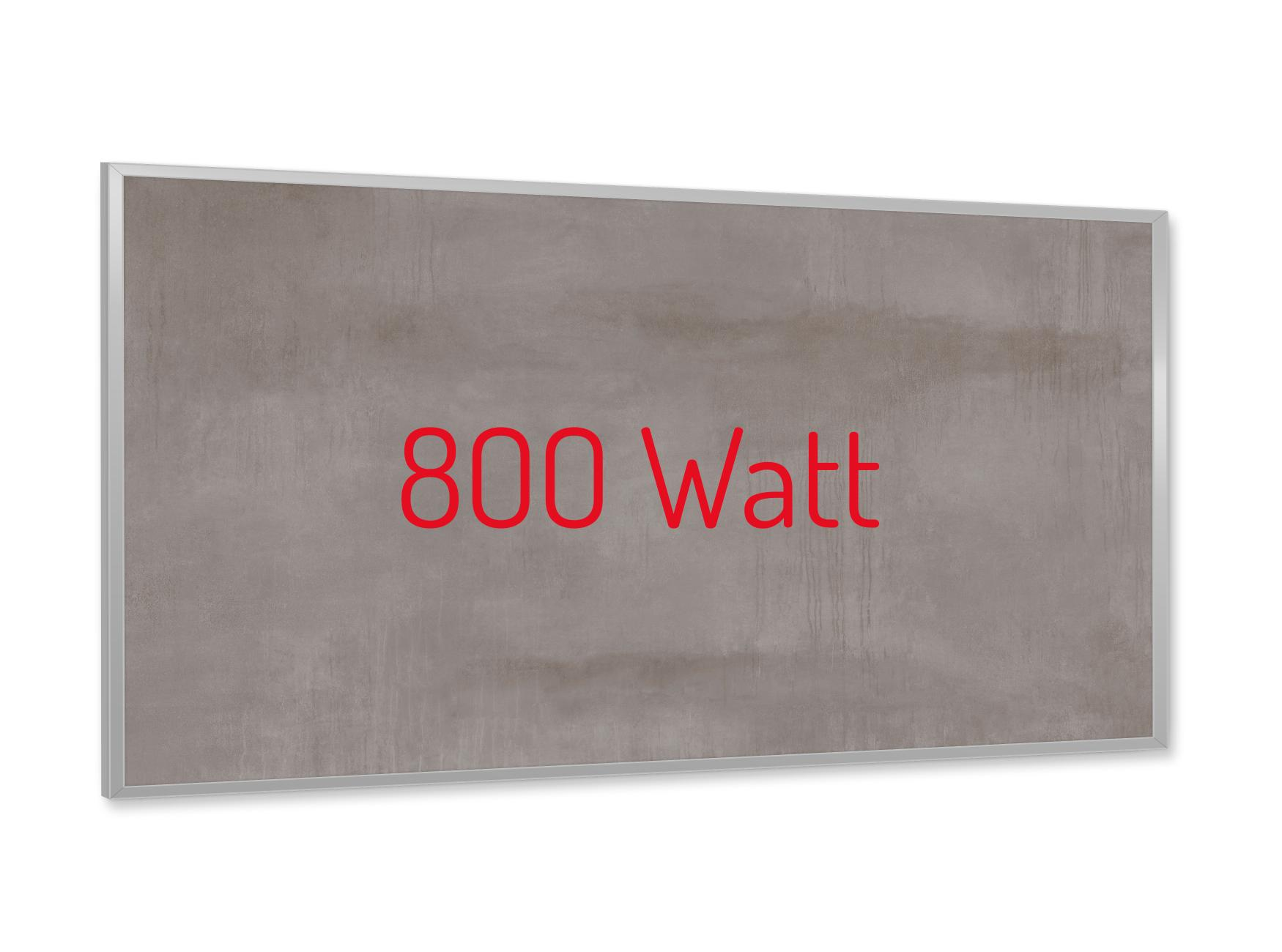 PowerSun Keramik Struktur Paris 800 Watt 60x120cm