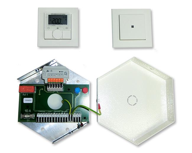Licht- und Heizungsverteiler MS (vorprogrammiert)