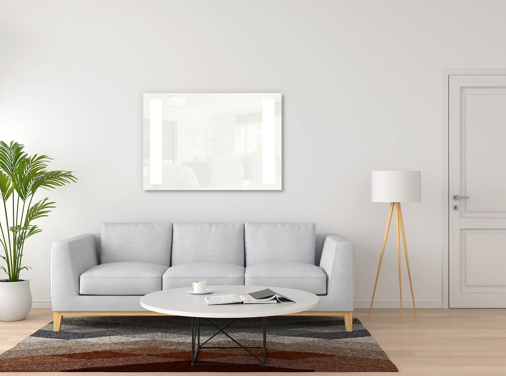 PowerSun Carboglas LED weiß 360 Watt 60x100cm