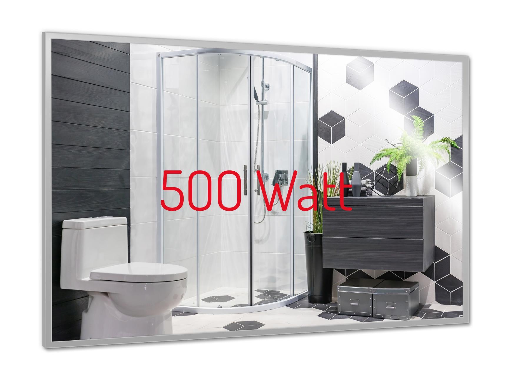 PowerSun Mirror mit Chrom-Rahmen 60x90cm
