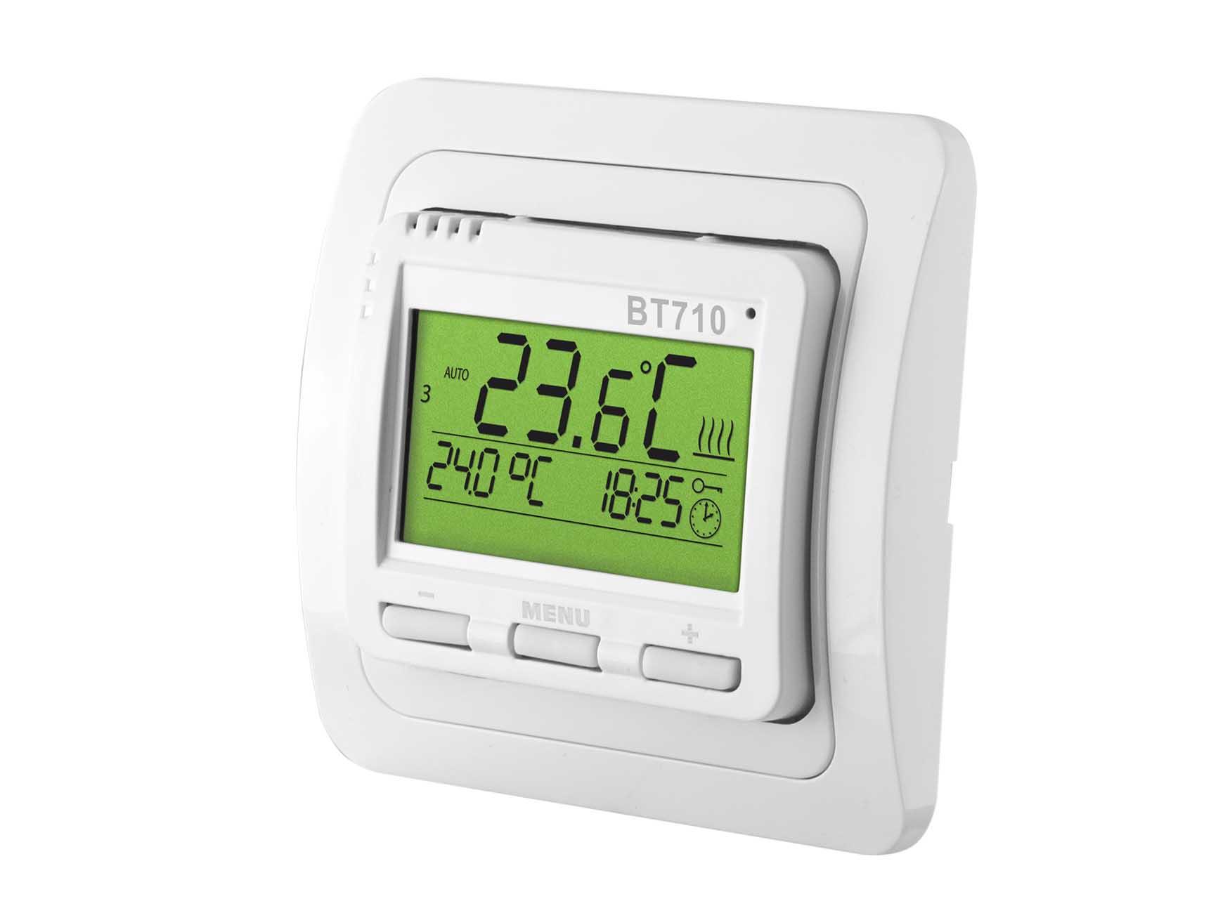 Funk Thermostat Aufputz digital mit LCD-Anzeige