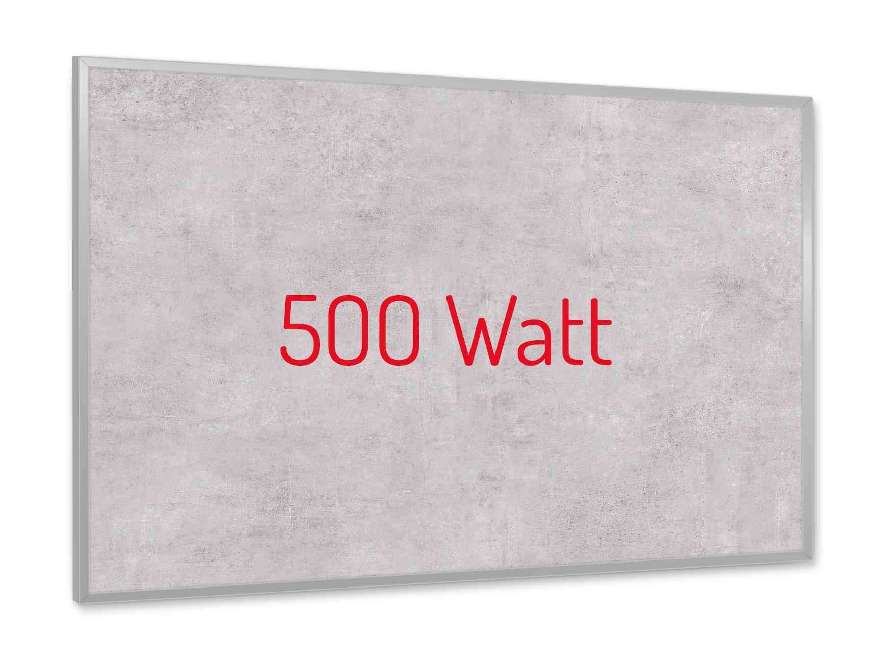 PowerSun Keramik Struktur Miami 500 Watt 60x90cm