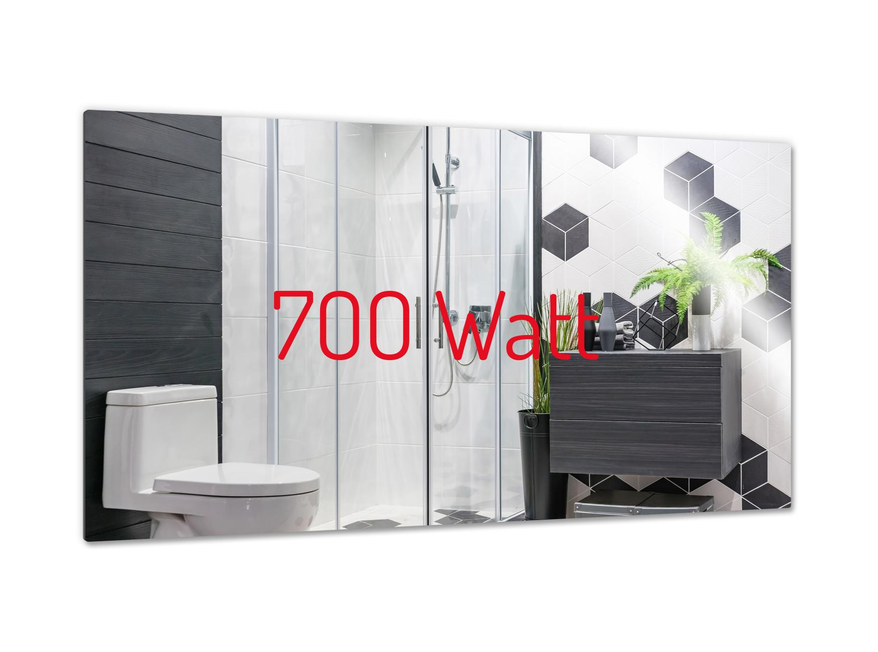 PowerSun Mirror rahmenlos 700 Watt